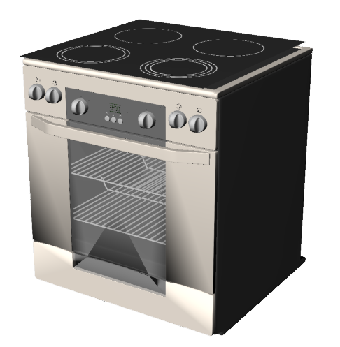 Oven 03  3D View