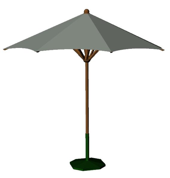 Parasol 04  3D View