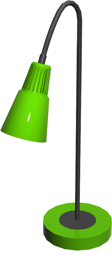 Kvart Floor Lamp Green