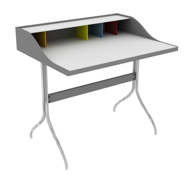 Bim Object George Nelson Swag Leg Desk 1958 Marketplace