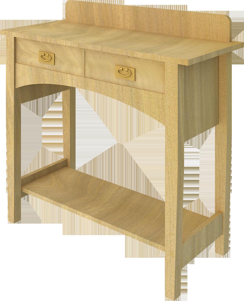 Stickley Bracket Table 01