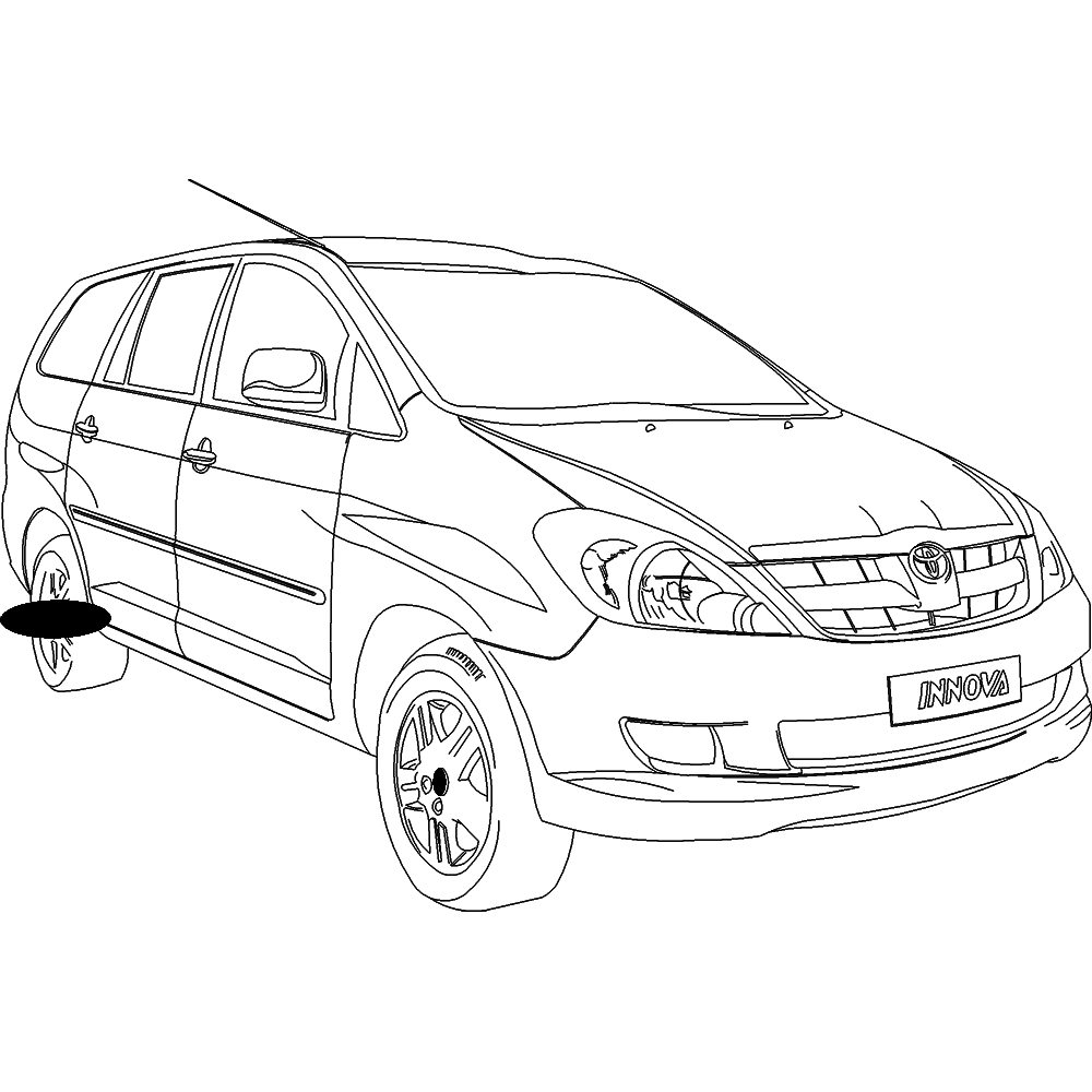 how to draw a car in 3 point perspective