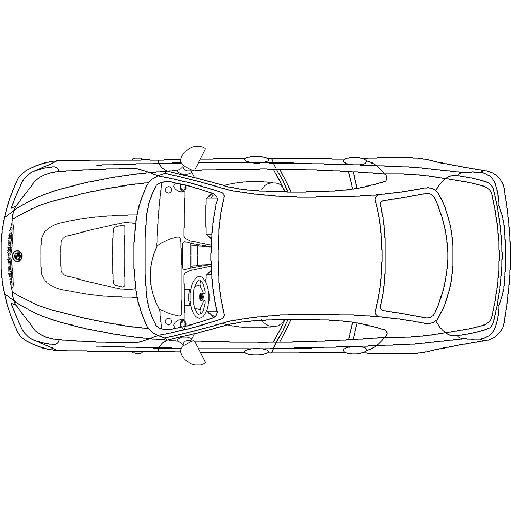 CAD- und BIM-Objekte - Auto BA57 - Polantis