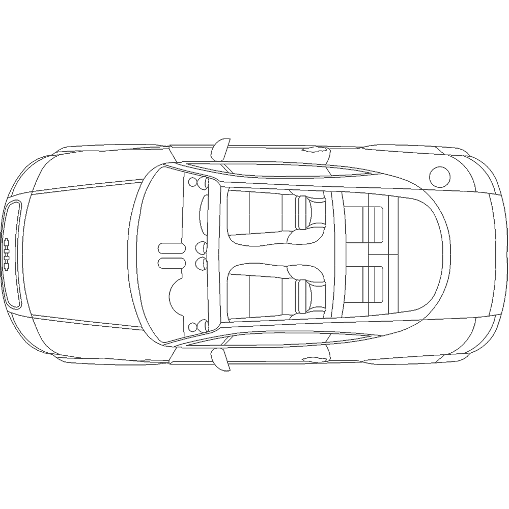 top vehicle diagrams