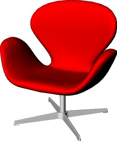 Swan Jacobsen Armchair