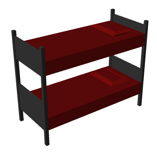 Stacked Simple Bed