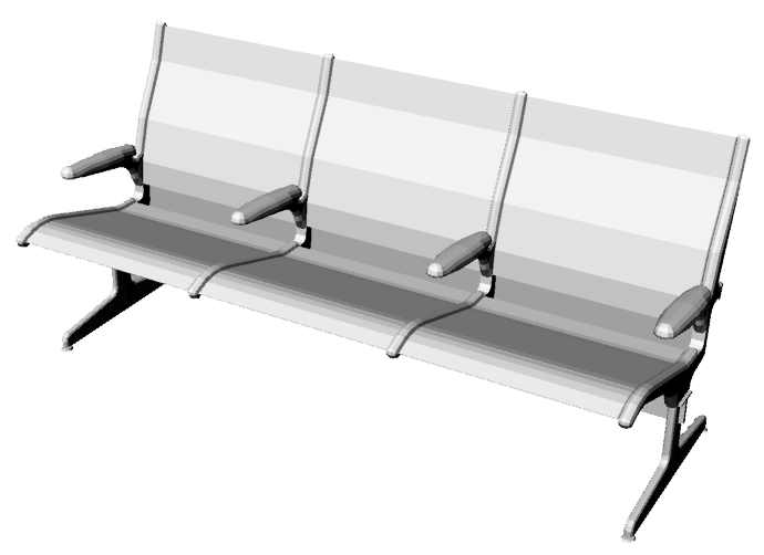 Bench 3 Seats