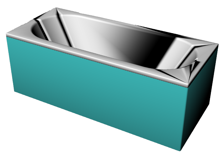 Bathtub 1500x700