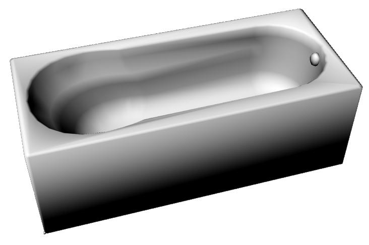 Bathtub 1800x800