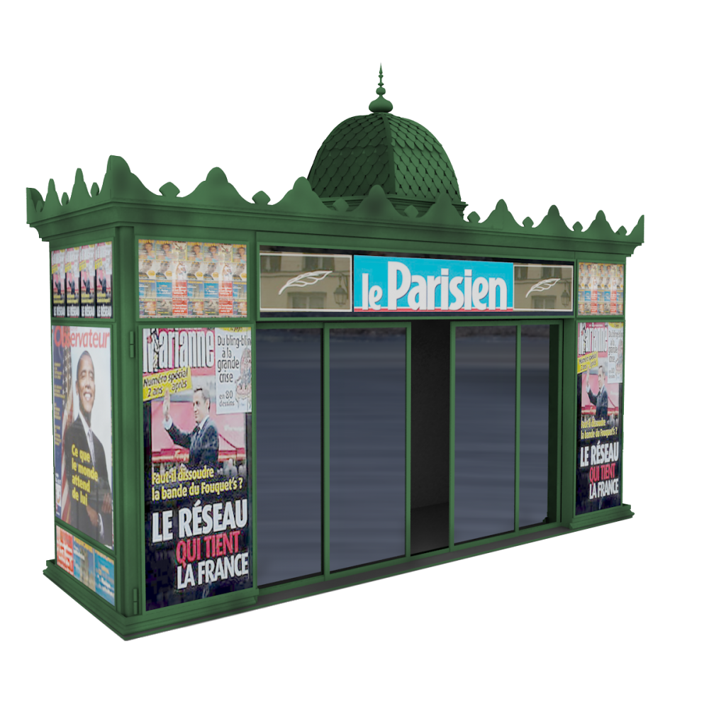 Urban furniture Kiosk