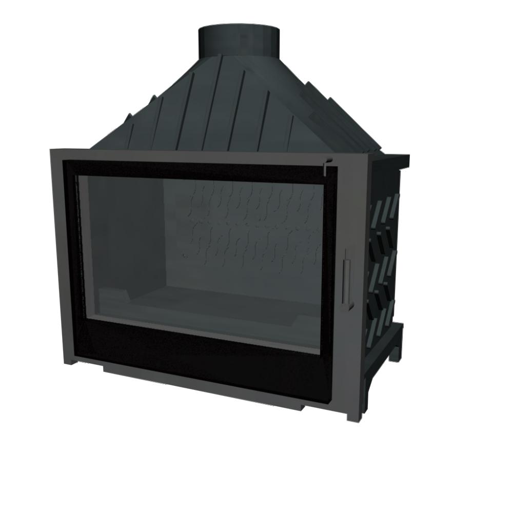 Visio 8 Firebox  3D View