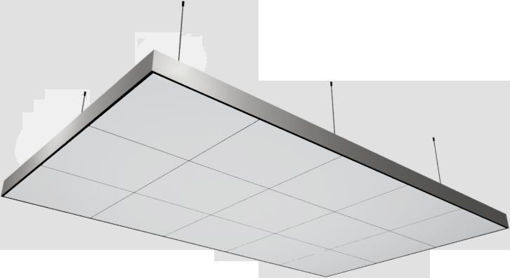 Bim Object Axiom C Canopy 15 Tiles Module 3000x1800mm