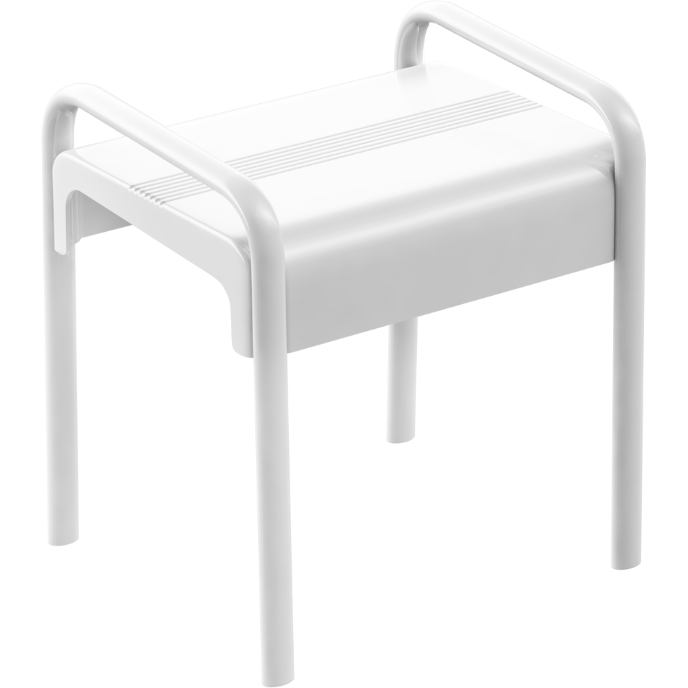 CAD and BIM object - Tabouret de douche - 047770 - PELLET ASC