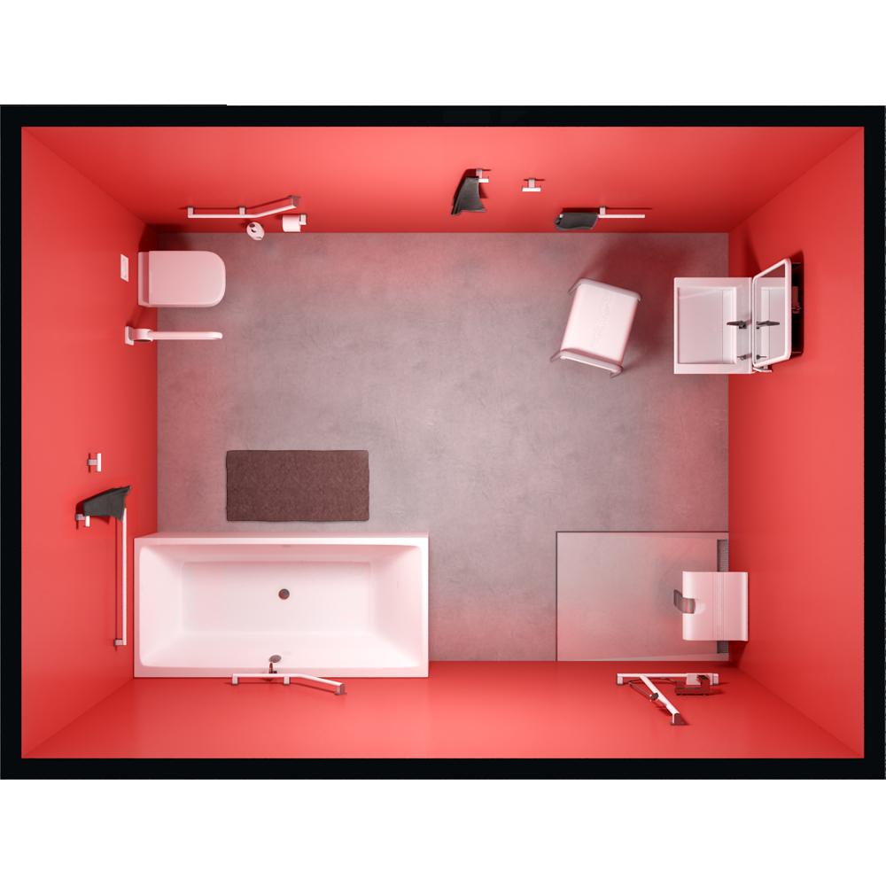 CAD and BIM object - Salle de Bain Scene - PELLET ASC