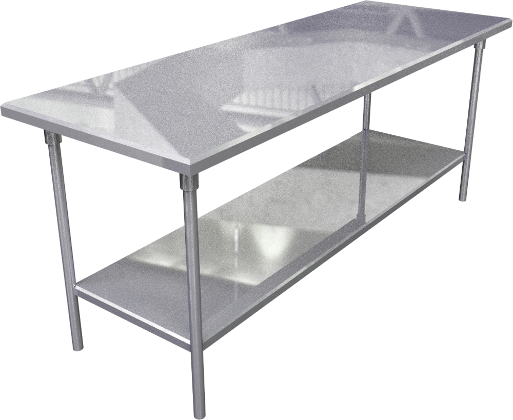 Objeto Cad E Bim Stainless Steel Work Table Marketplace
