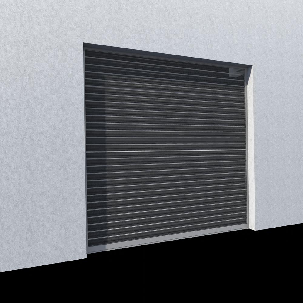 CAD- und BIM-Objekte - Rideau metallique Murax 110 microperfore ...