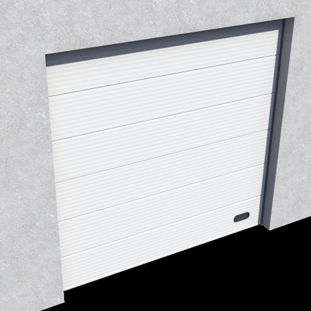 Objeto bim y cad porte industrie micro rainuree ral 9010 for Porte normale