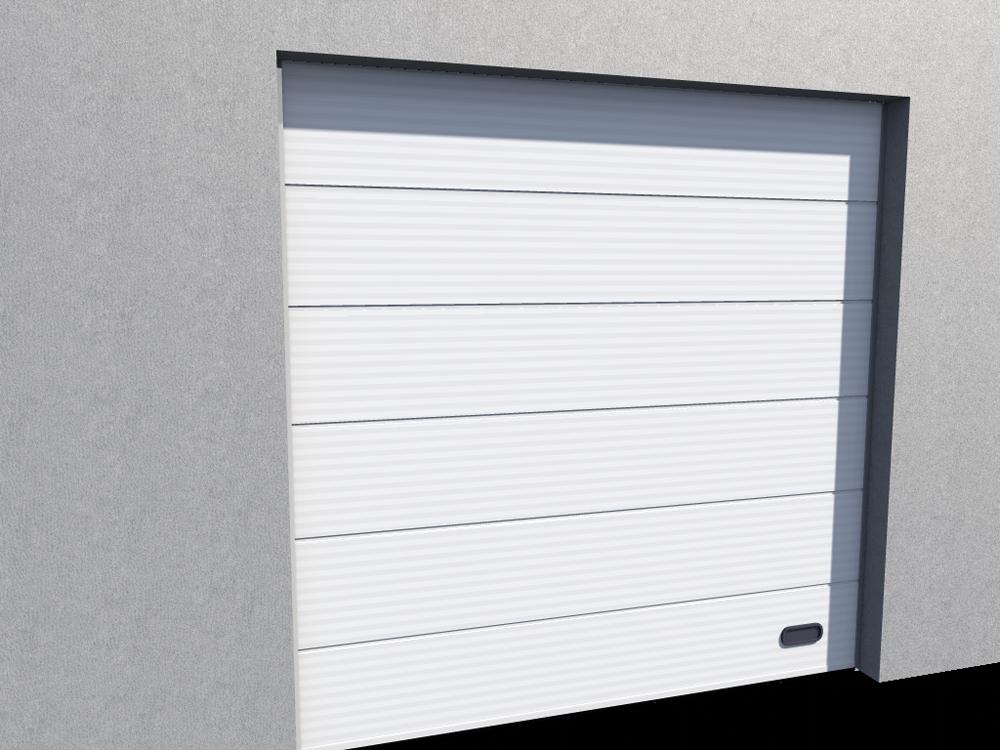 oggetto bim porte industrie micro rainuree ral 9010. Black Bedroom Furniture Sets. Home Design Ideas