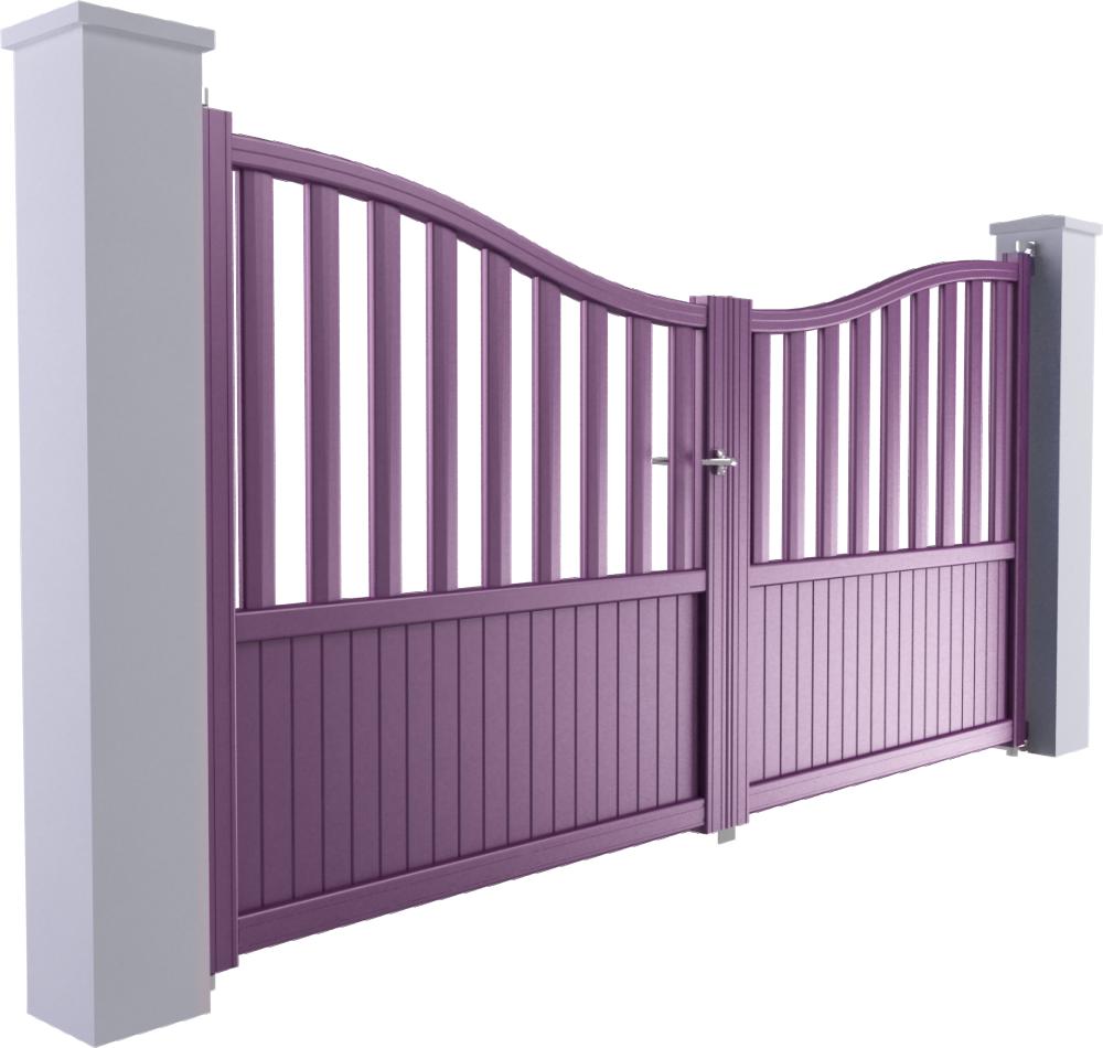Ligne Harmonie Modele Dupuy 2 vantaux  3D View