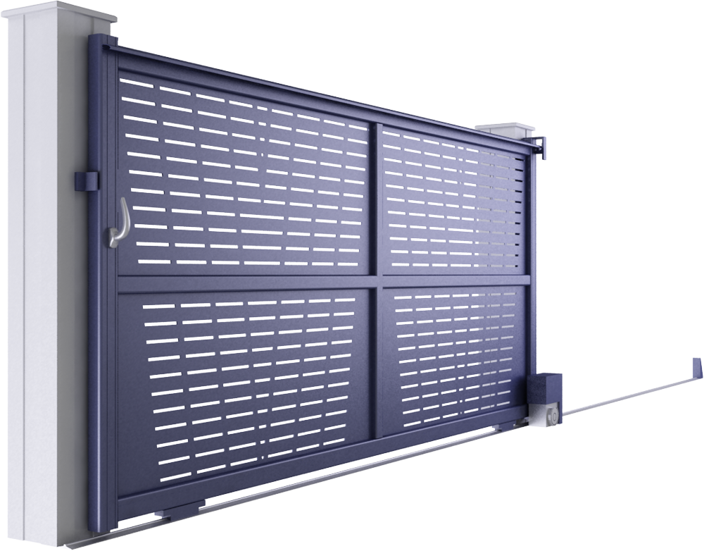 Creation Line - Vesoul Sliding Gate Model