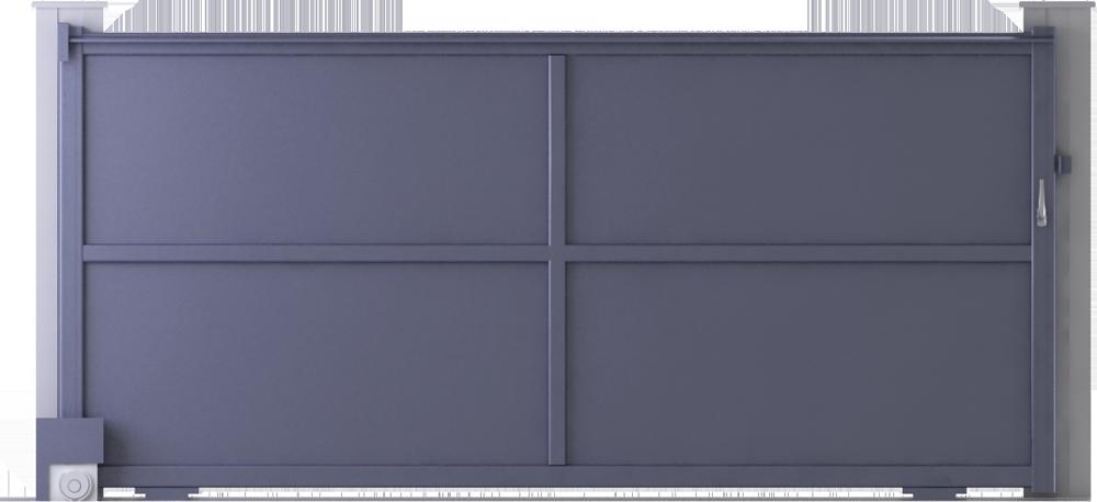 Objets bim et cao ligne creation modele evry coulissant for Porte garage toulousaine