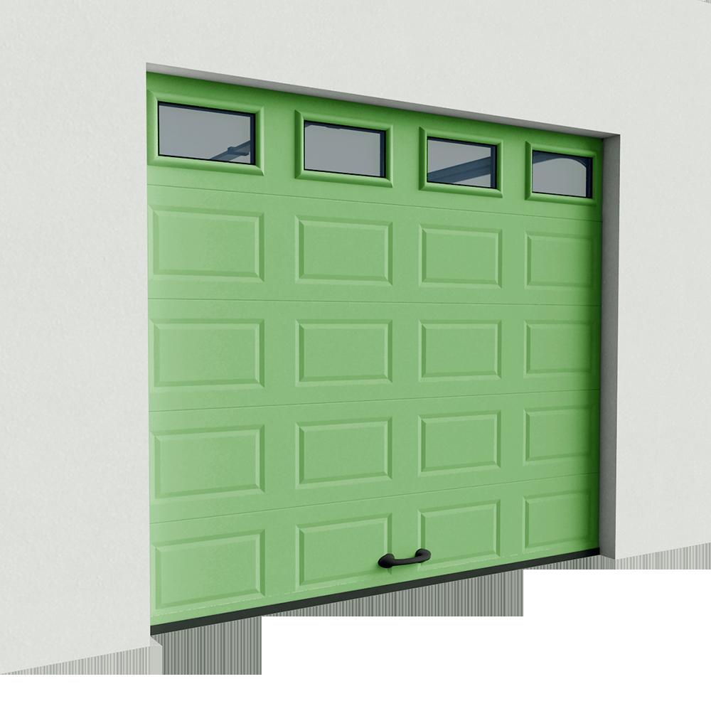 Vestane Casette et hublots casettes Levee Normale  3D View