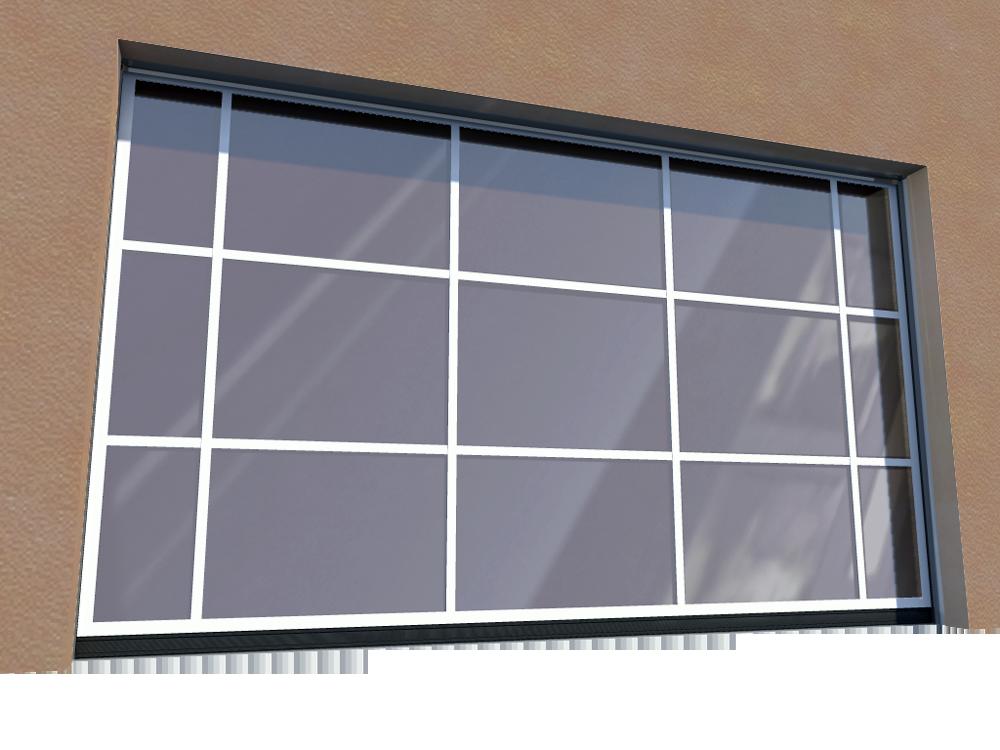 011 Porte basculante SAFIR S400 speciale tablier miroir par exemple