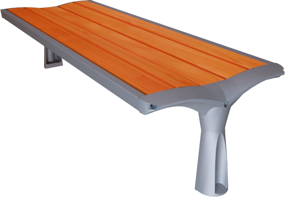 Strange Cad And Bim Object Vesta Wood Backless Bench Concepturbain Machost Co Dining Chair Design Ideas Machostcouk