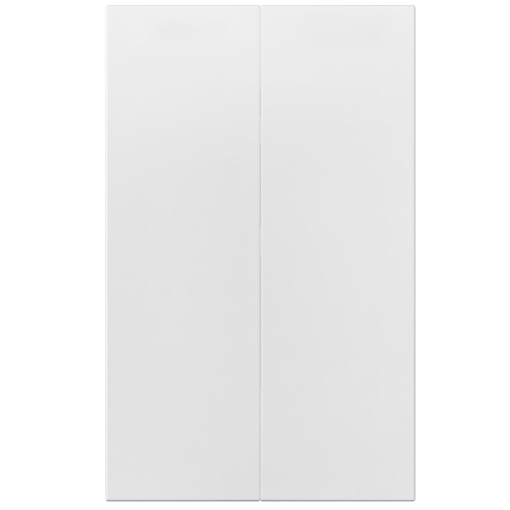 2p Door f Corner Base Cabinet Set Right Hand White  Back