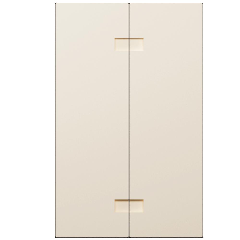 2 Door Corner Base Cabinet Set Off White  Back