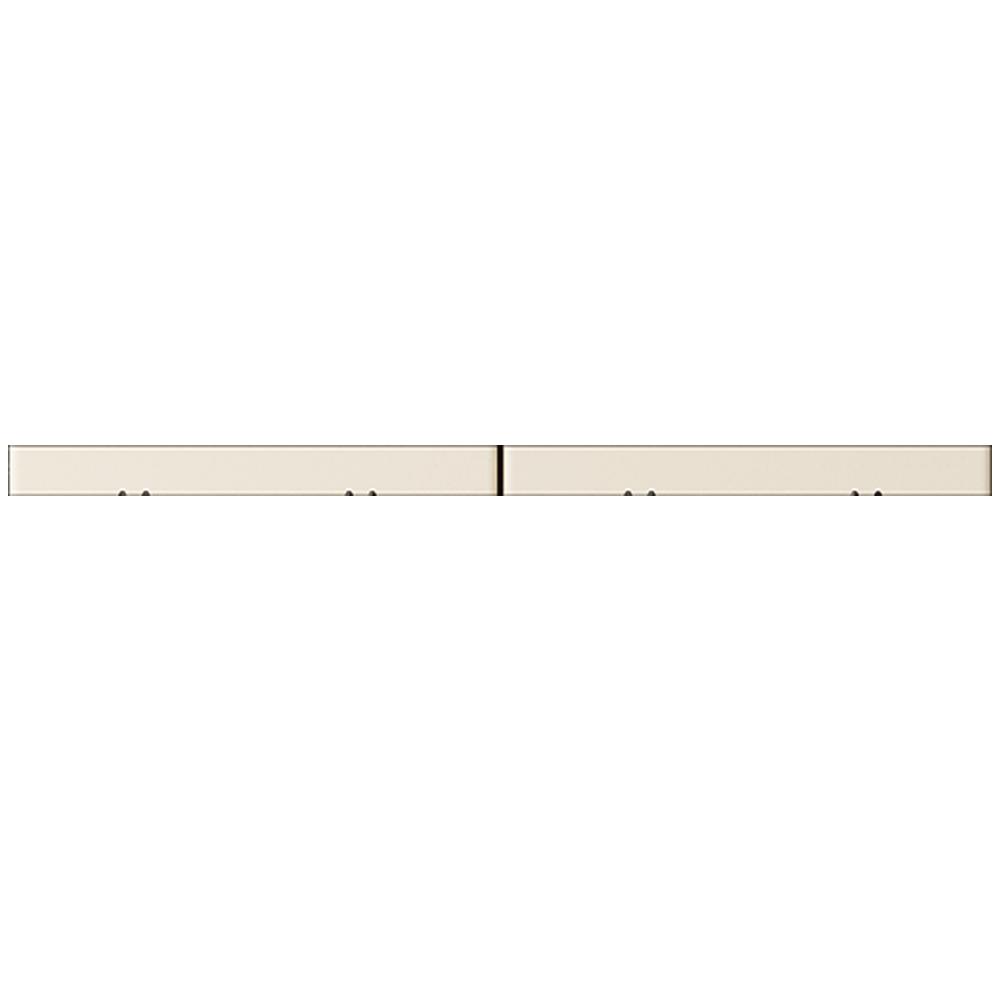 2 Door Corner Base Cabinet Set Off White  Top