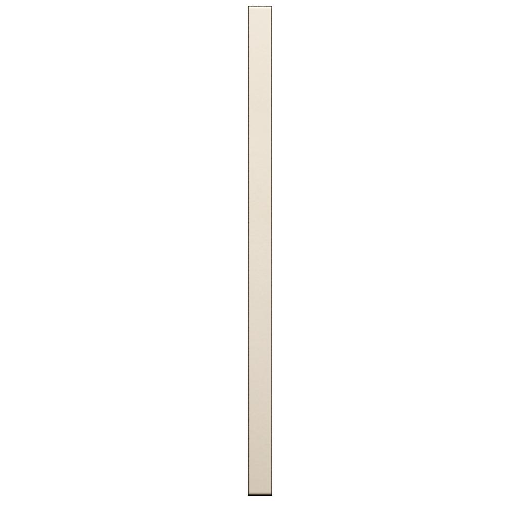 2 Door Corner Base Cabinet Set Off White  Right