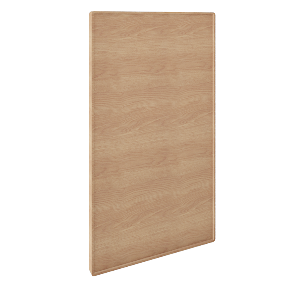 Front For Dishwasher Oak  3D View