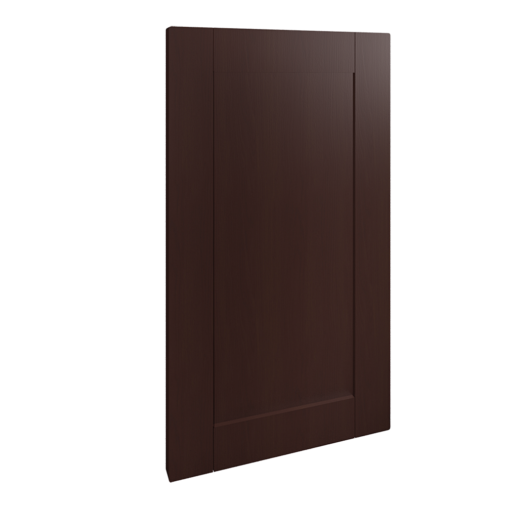 Front for Dishwasher Wood Effect Brown  3D View