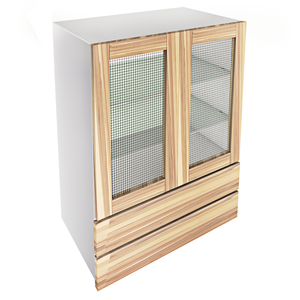 METOD Base Cabinet With Shelves White Ringhult White  3D View