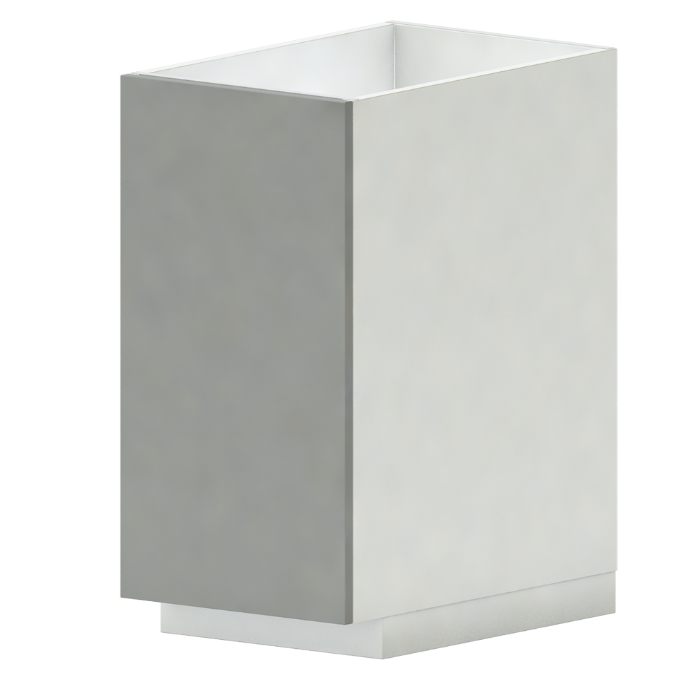 METOD MAXIMERA Base Cab F Sink 2 Fronts 2 Drawers White Veddinge Grey  3D View