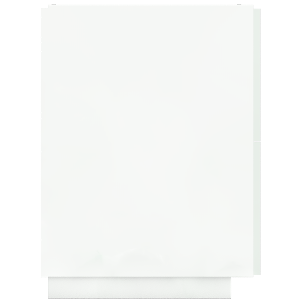 METOD MAXIMERA Base Cb 2 Fronts 2 High Drawers White Ringhult White  Left