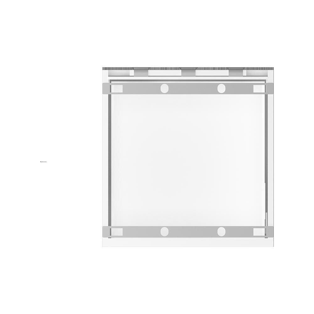 METOD FORVARA Base Cab 4 Fronts 4 Drawers White Ringhult White  Top