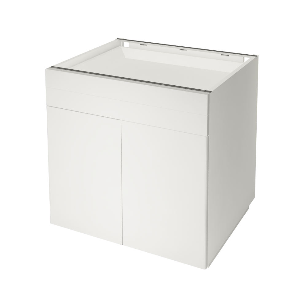 METOD MAXIMERA Base Cabinet with 5 Drawers White Ringhult White  3D View