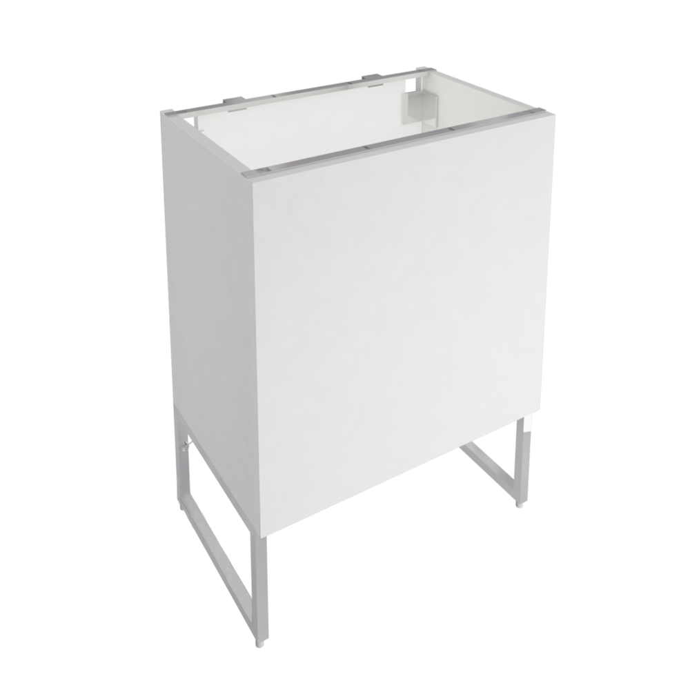 METOD FORVARA Base Cabinet with Drawer Door White Bodbyn Off White  3D View