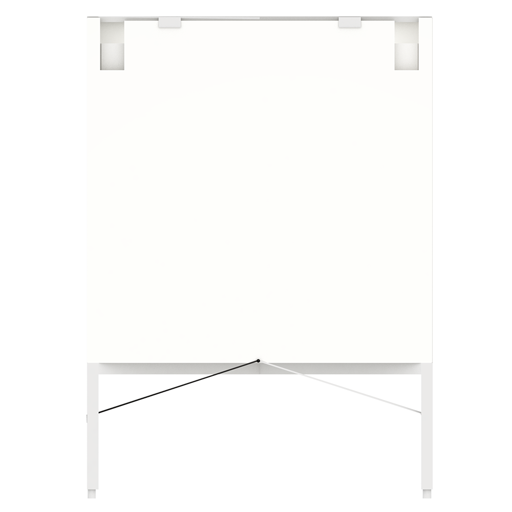 METOD FÖRVARA Base Cabinet With Drawer Door White Bodbyn Off White  Back