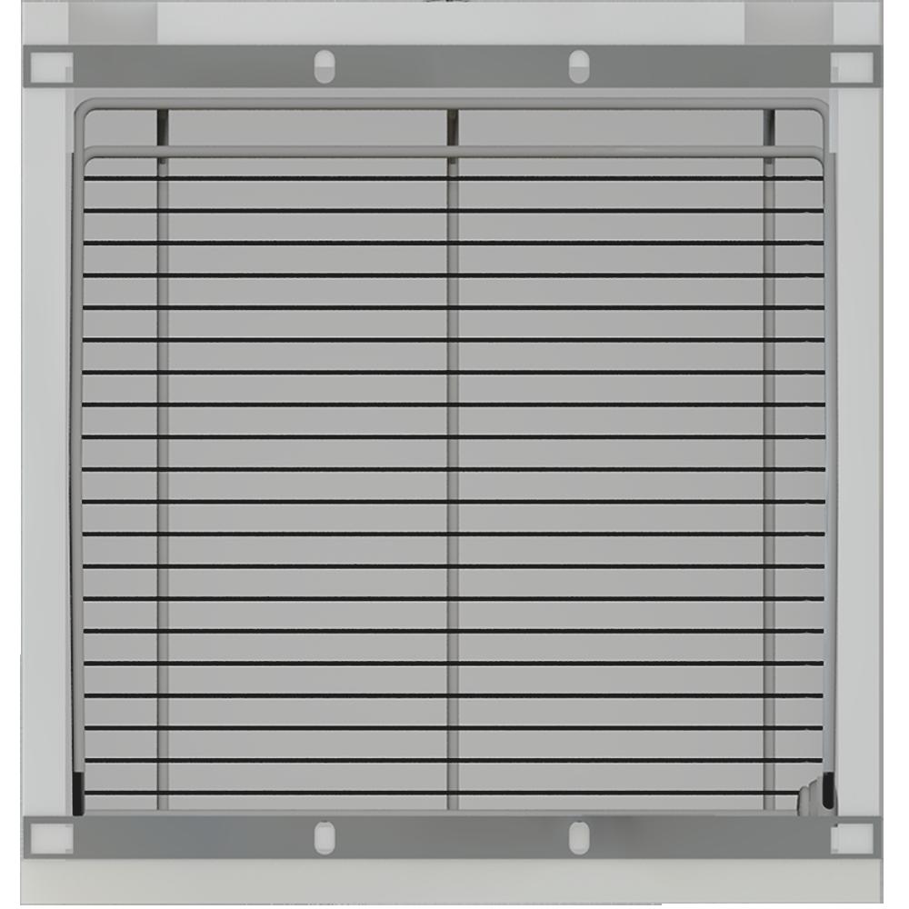 METOD Base Cabinet with Shelves 2 Doors White Veddinge Gray  Top