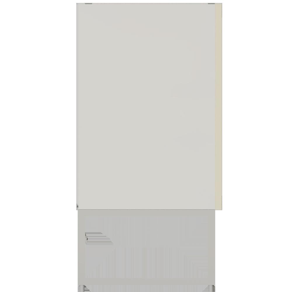 METOD Base Cabinet with Shelves 2 Doors White Veddinge Gray  Left