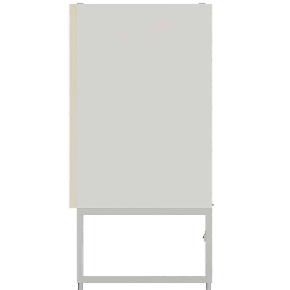METOD Base Cabinet with Shelves 2 Doors White Veddinge Gray  Right