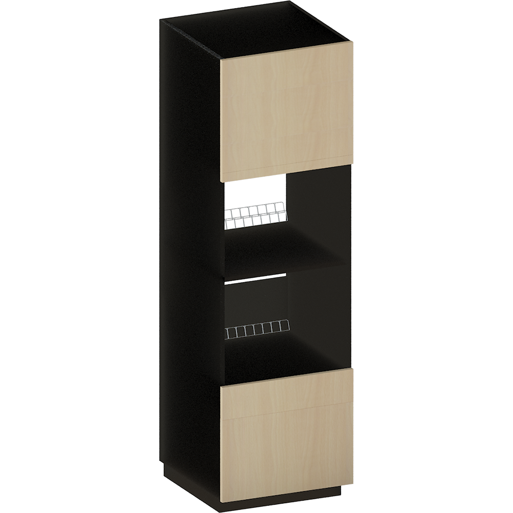 objeto bim y cad metod maximera hola cab ov combo ov con dr 3 cajones blanco voxtorp nogal ikea. Black Bedroom Furniture Sets. Home Design Ideas