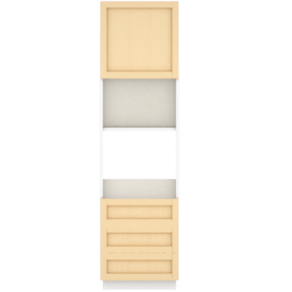 METOD MAXIMERA High Cab for Micro Combi 4 Drawers White Voxtorp Walnut  Front