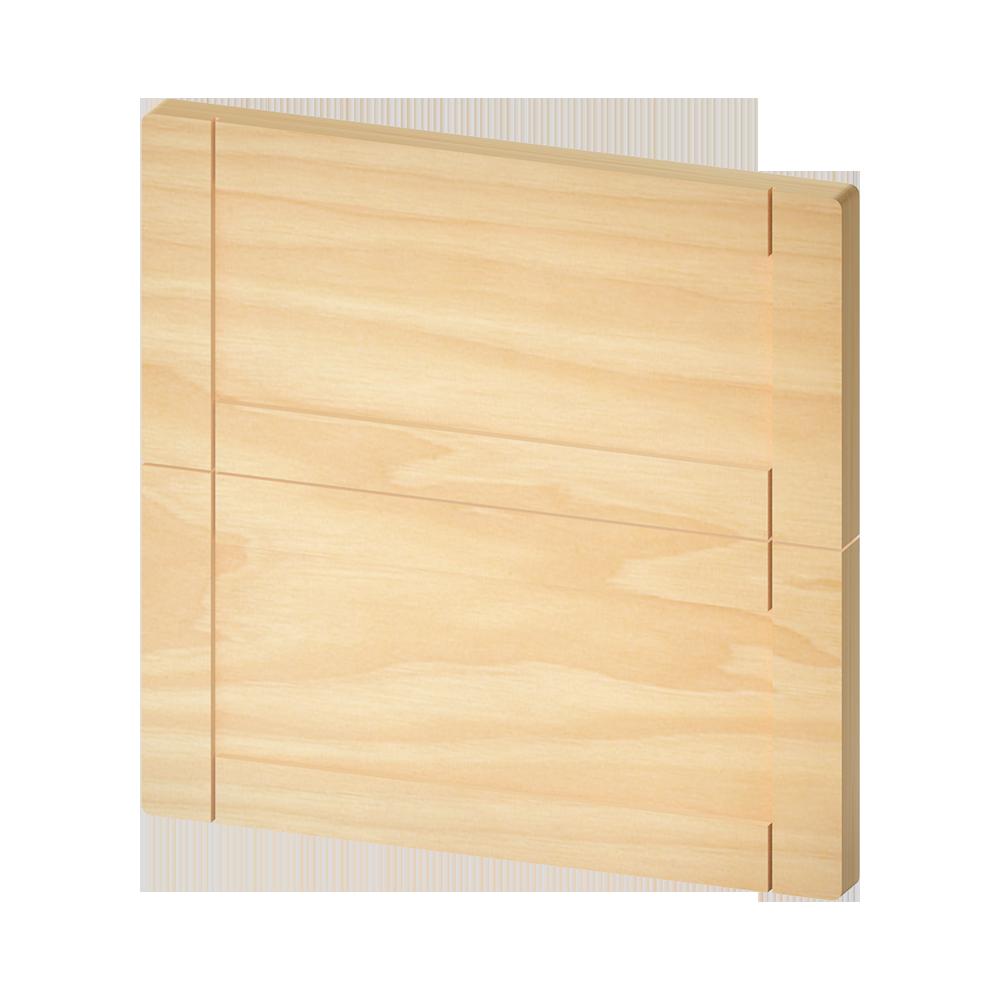 METOD Wall Cabinet Horizontal White Veddinge Gray