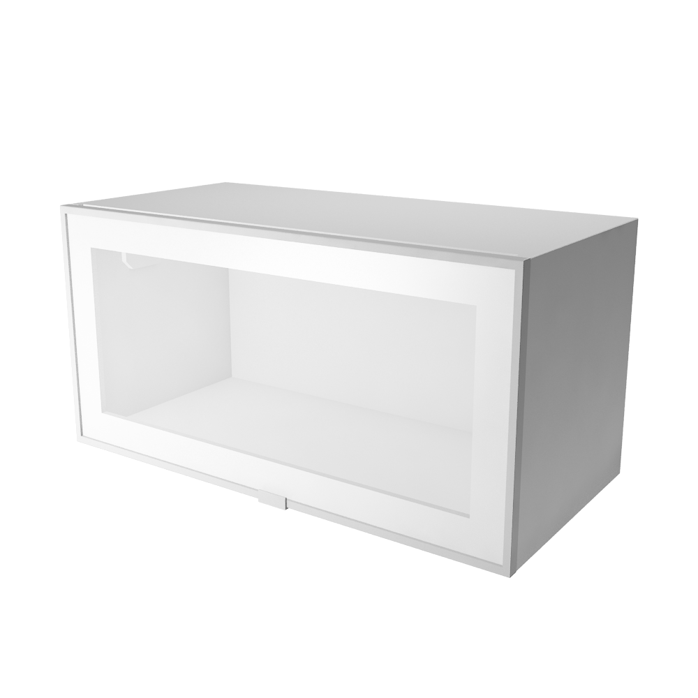 Objeto Cad E Bim Metod Wall Cabinet With Shelves Glass Doors White Jutis Frosted Glass Ikea