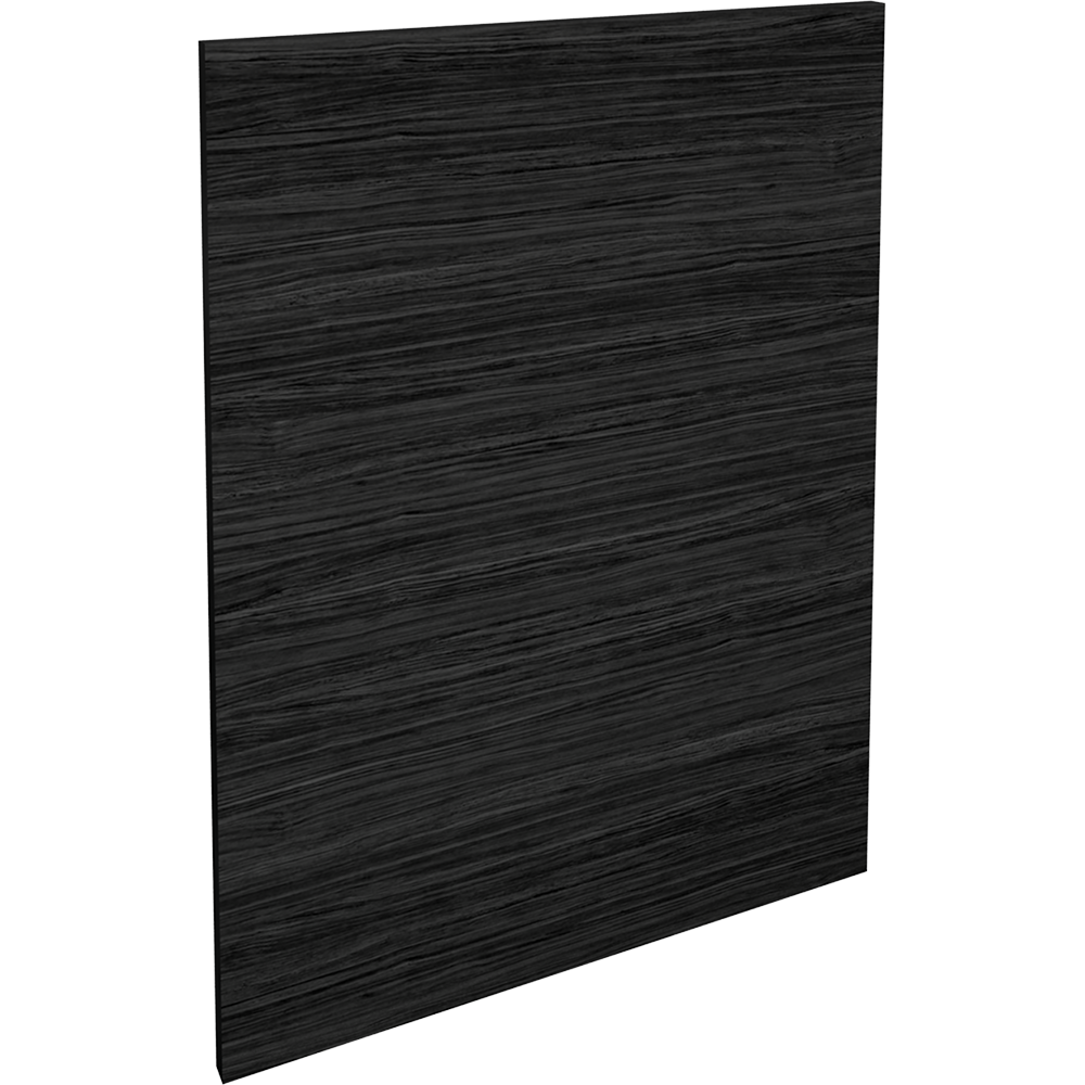 LAXARBY Door Black Brown  3D View