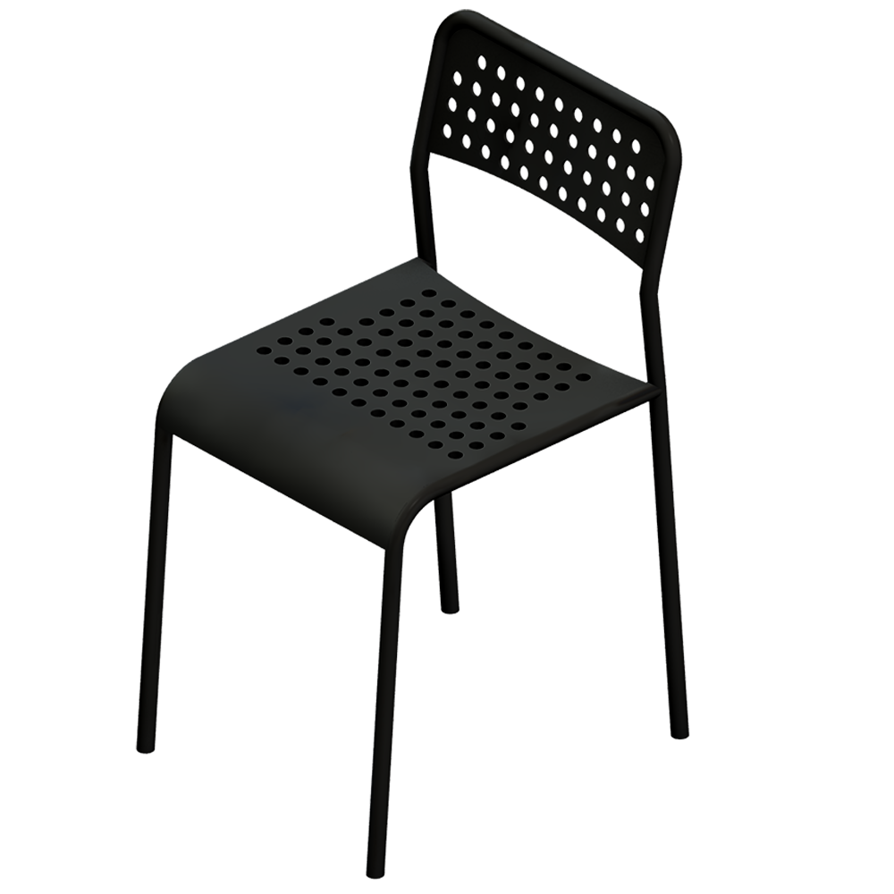 oggetto bim adde chair ikea. Black Bedroom Furniture Sets. Home Design Ideas